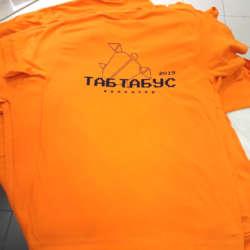 Печать изображения с термотрансферным переносом на футболку